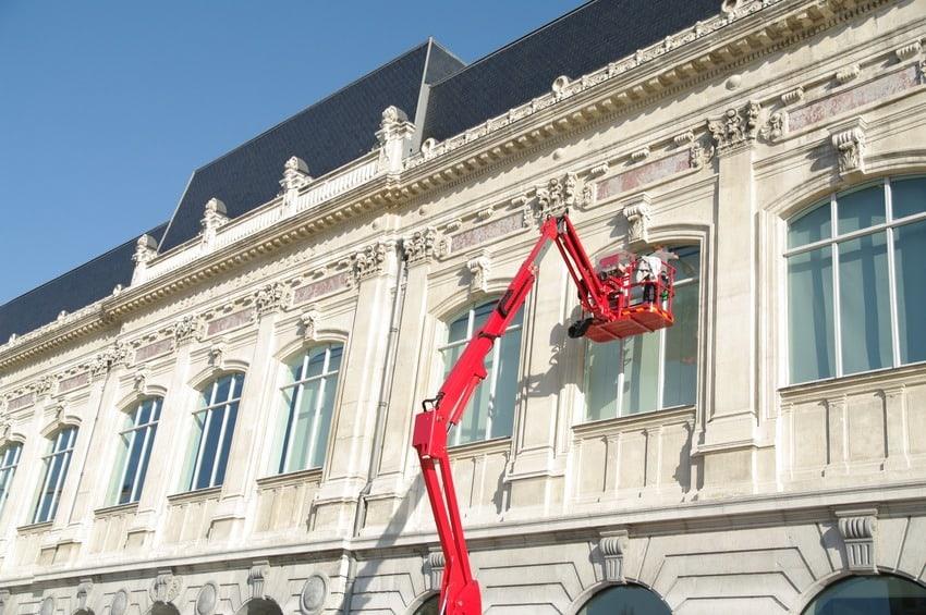 Fassadenreinigung und Pflege